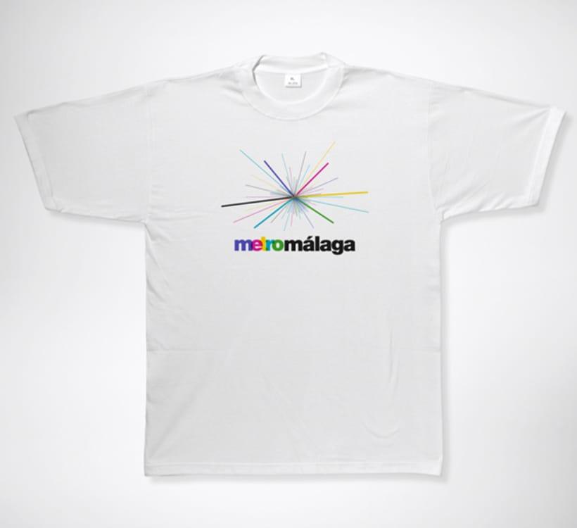 Metro Málaga. Proyecto personal de Marca y Sistema de Identidad. Comunicación y gestión de marca. 19