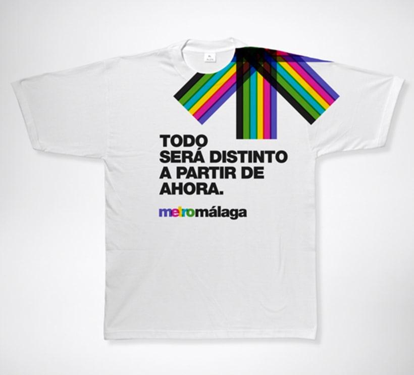 Metro Málaga. Proyecto personal de Marca y Sistema de Identidad. Comunicación y gestión de marca. 17