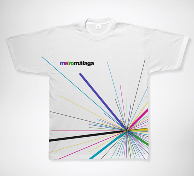 Metro Málaga. Proyecto personal de Marca y Sistema de Identidad. Comunicación y gestión de marca. 20