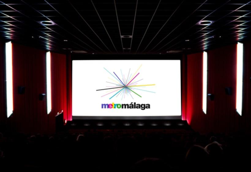 Metro Málaga. Proyecto personal de Marca y Sistema de Identidad. Comunicación y gestión de marca. 16