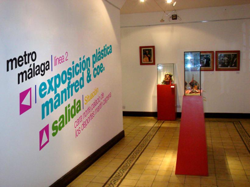 Metro Málaga. Proyecto personal de Marca y Sistema de Identidad. Comunicación y gestión de marca. 11