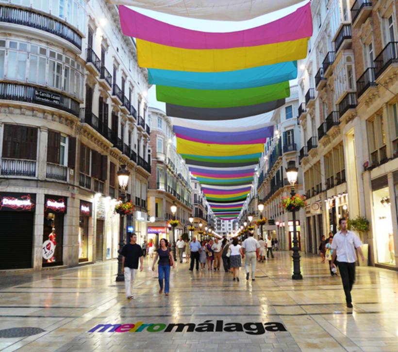 Metro Málaga. Proyecto personal de Marca y Sistema de Identidad. Comunicación y gestión de marca. 15