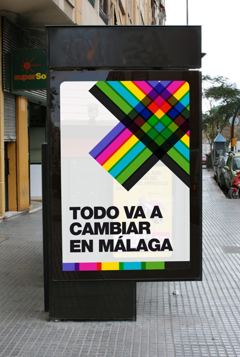 Metro Málaga. Proyecto personal de Marca y Sistema de Identidad. Comunicación y gestión de marca. 3