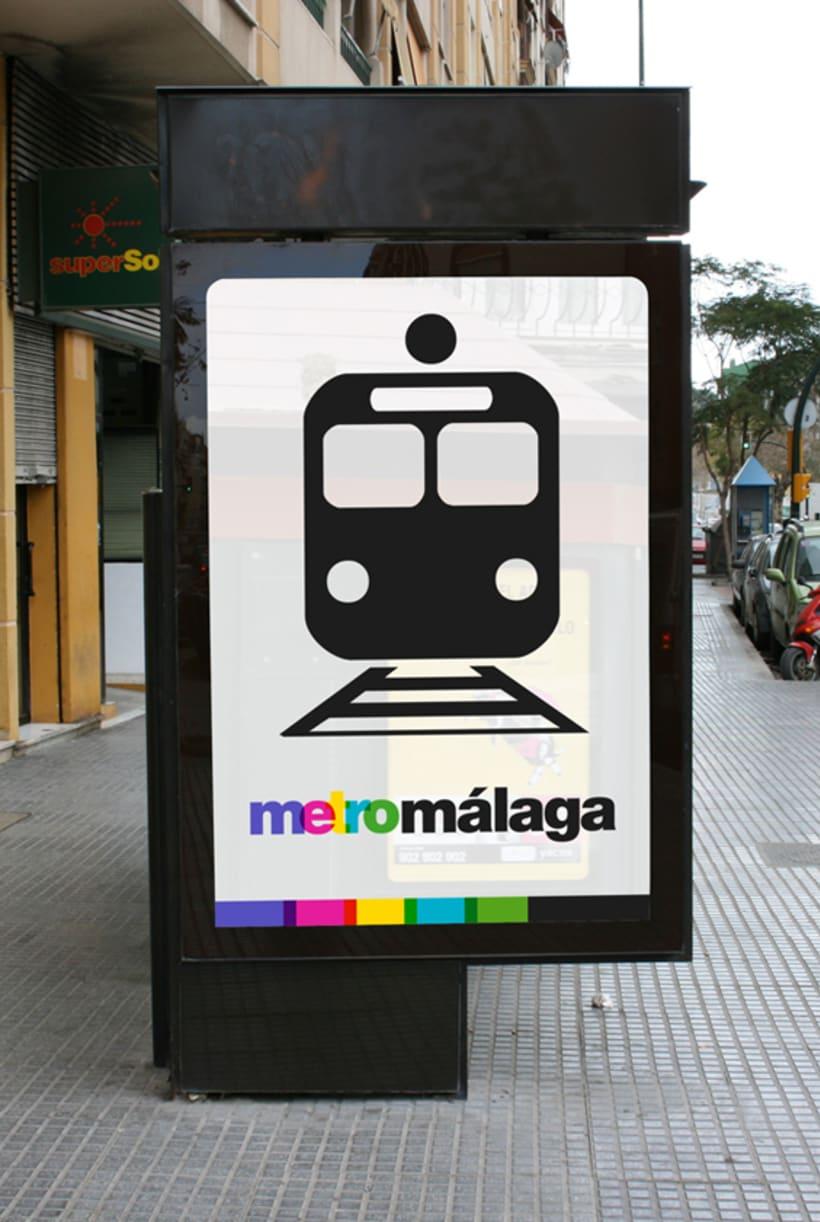 Metro Málaga. Proyecto personal de Marca y Sistema de Identidad. Comunicación y gestión de marca. 5