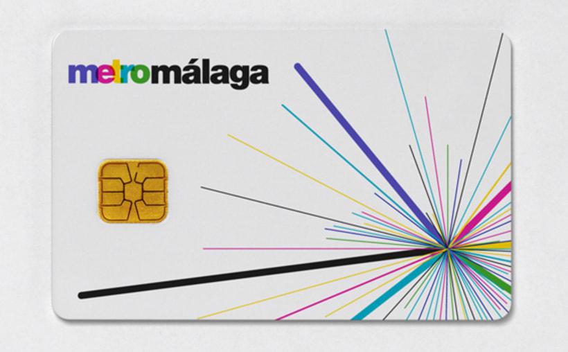 Metro Málaga. Proyecto personal de Marca y Sistema de Identidad. Comunicación y gestión de marca. 8