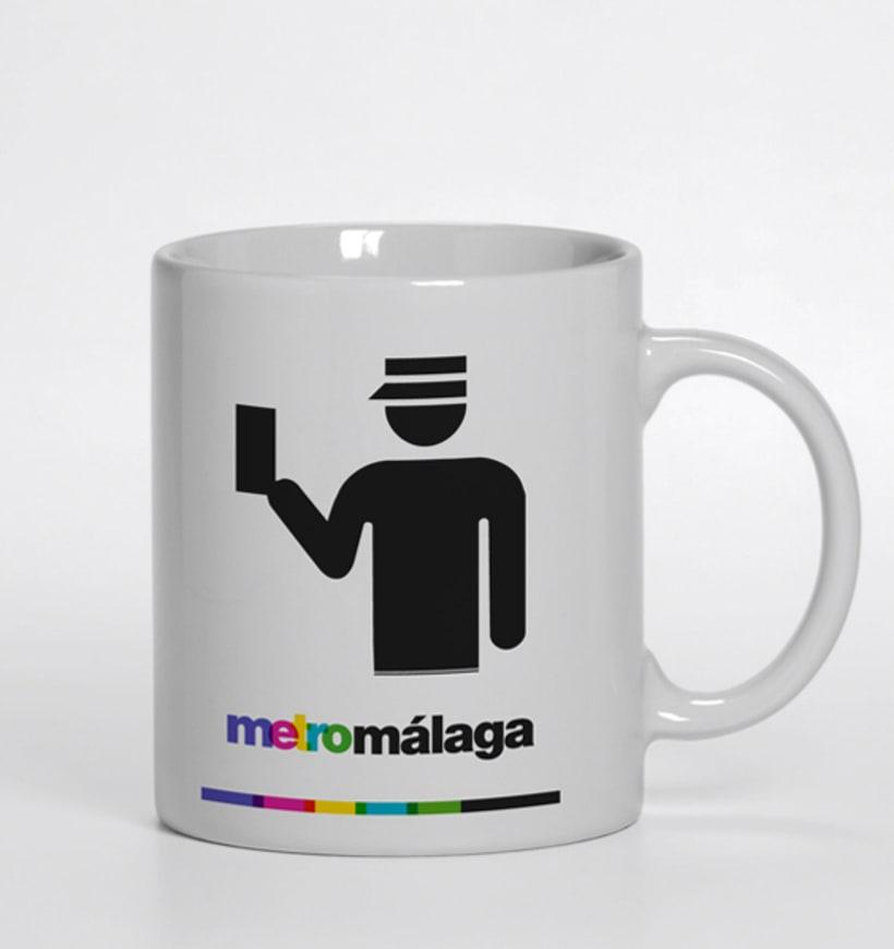 Metro Málaga. Proyecto personal de Marca y Sistema de Identidad. Comunicación y gestión de marca. 22