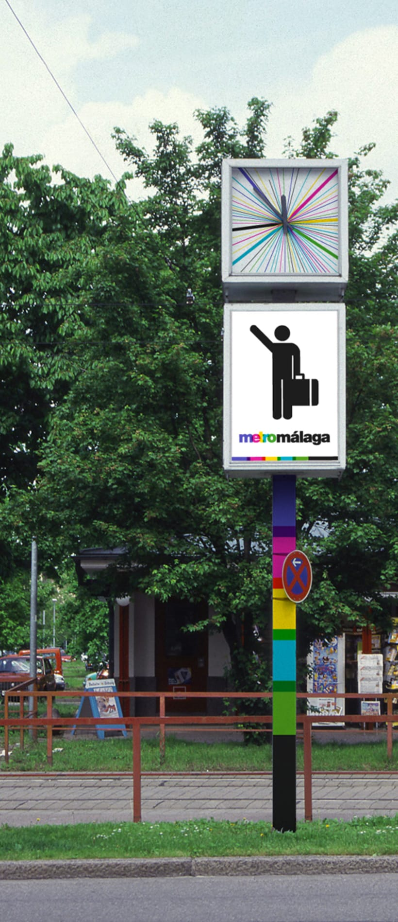 Metro Málaga. Proyecto personal de Marca y Sistema de Identidad. Comunicación y gestión de marca. 7