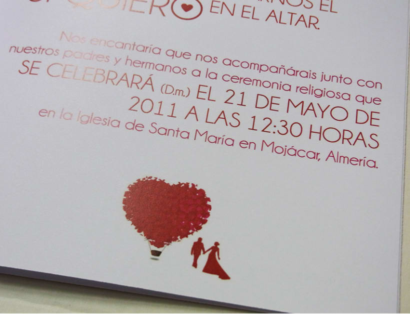 Invitación boda 7