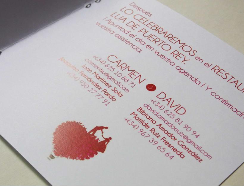 Invitación boda 8