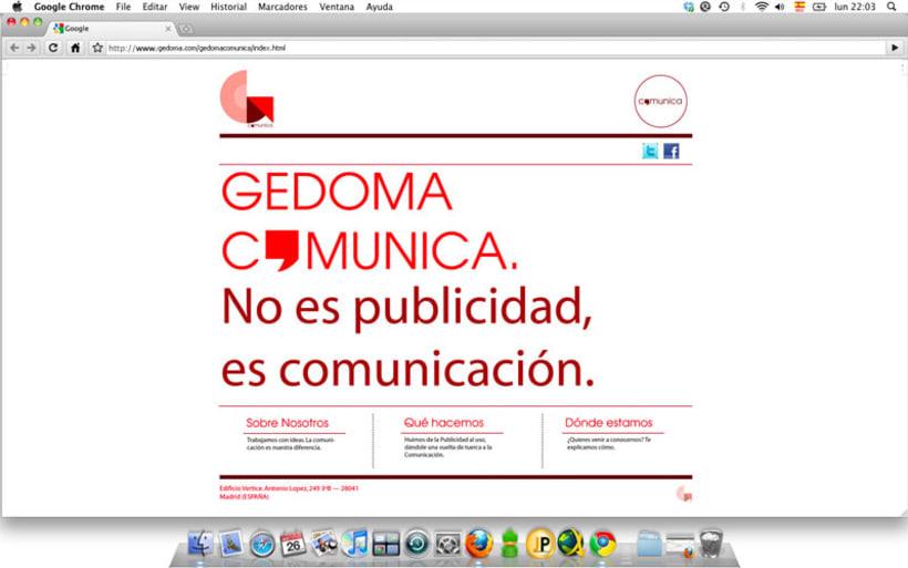Web Gedoma Comunica 1