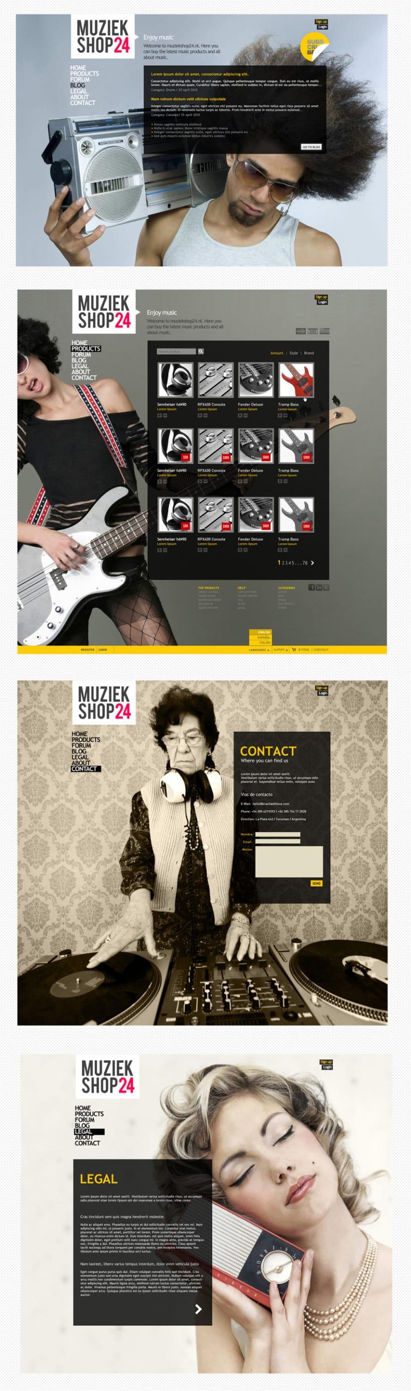 Muziek Shop v2 2