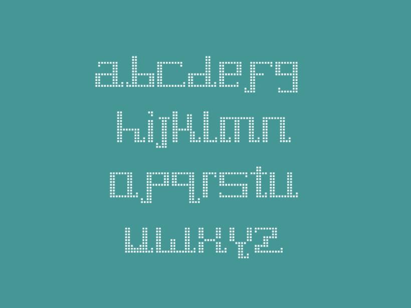 Tipografía Pixel Diamond 5