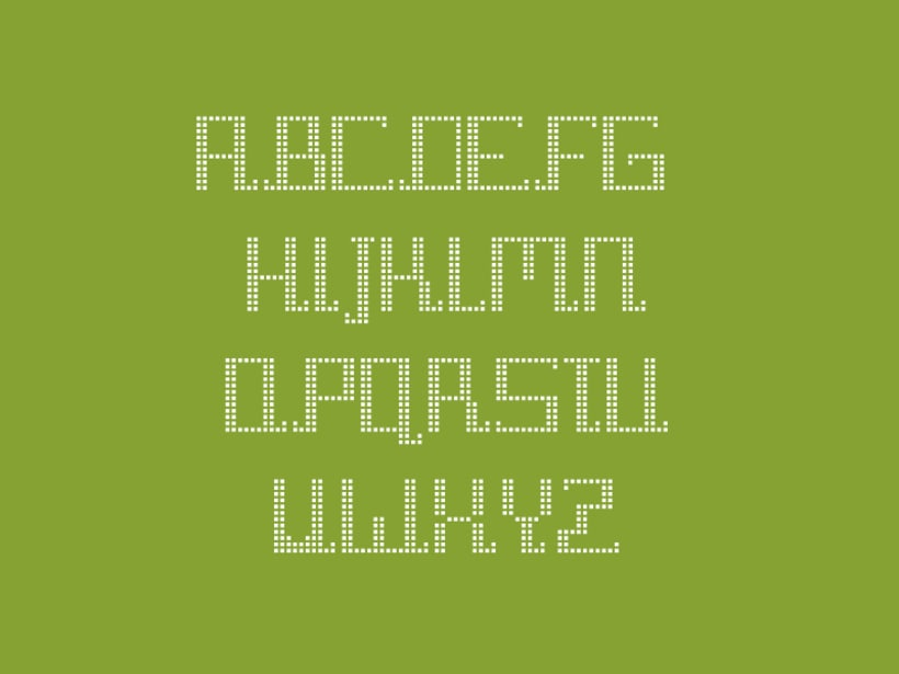 Tipografía Pixel Diamond 4