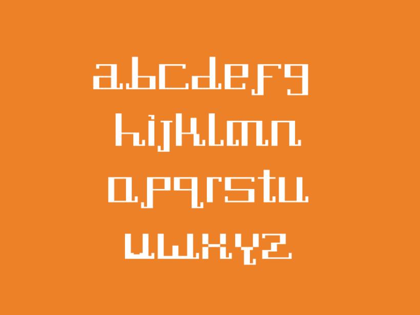 Tipografía Pixel Diamond 2