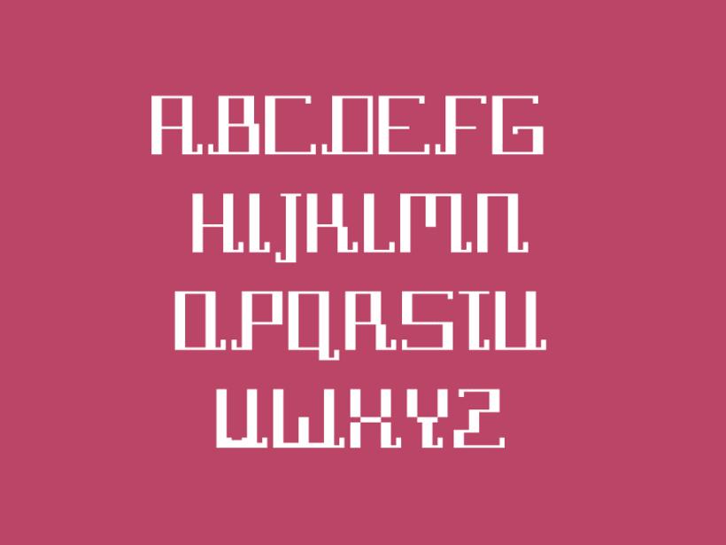 Tipografía Pixel Diamond 1