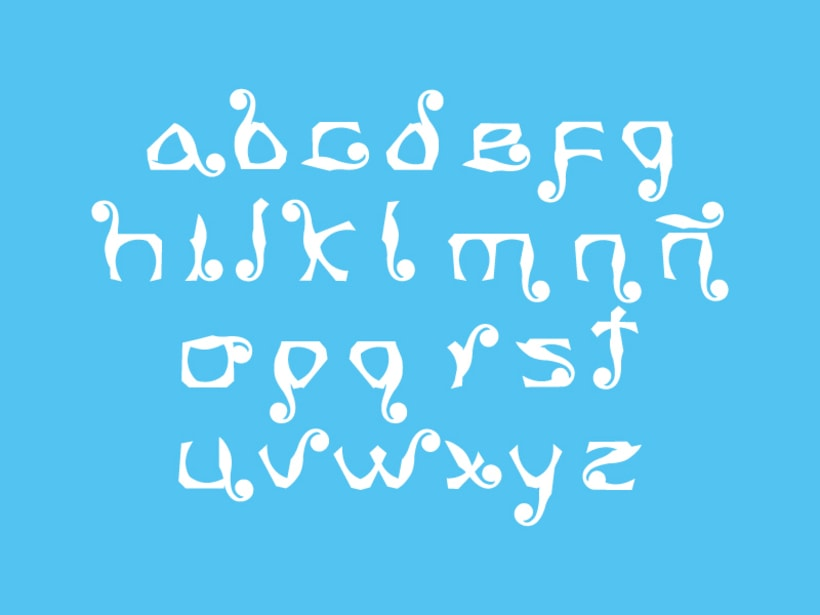 Tipografía Ananas 2