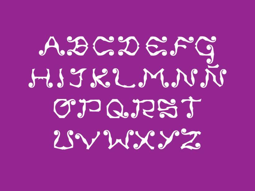 Tipografía Ananas 1