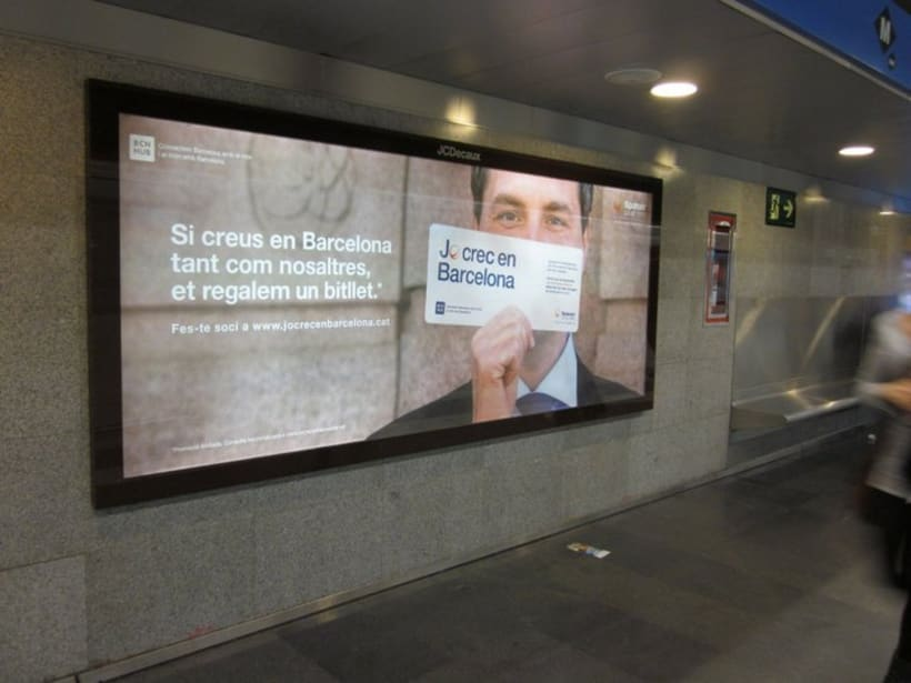 Spanair, Jo crec en Barcelona. 5