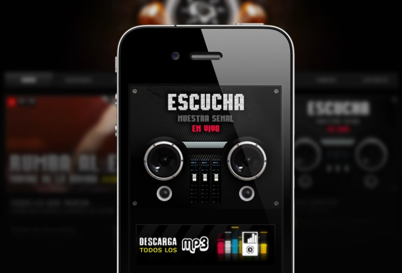 Interfaz Movil Sol99 FM 1