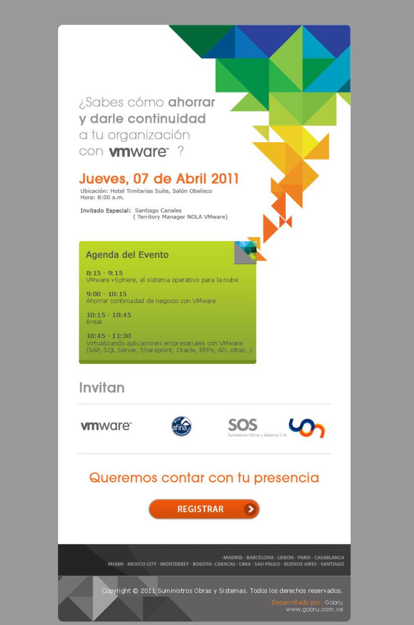 Mail Marketing Evento vmware 1