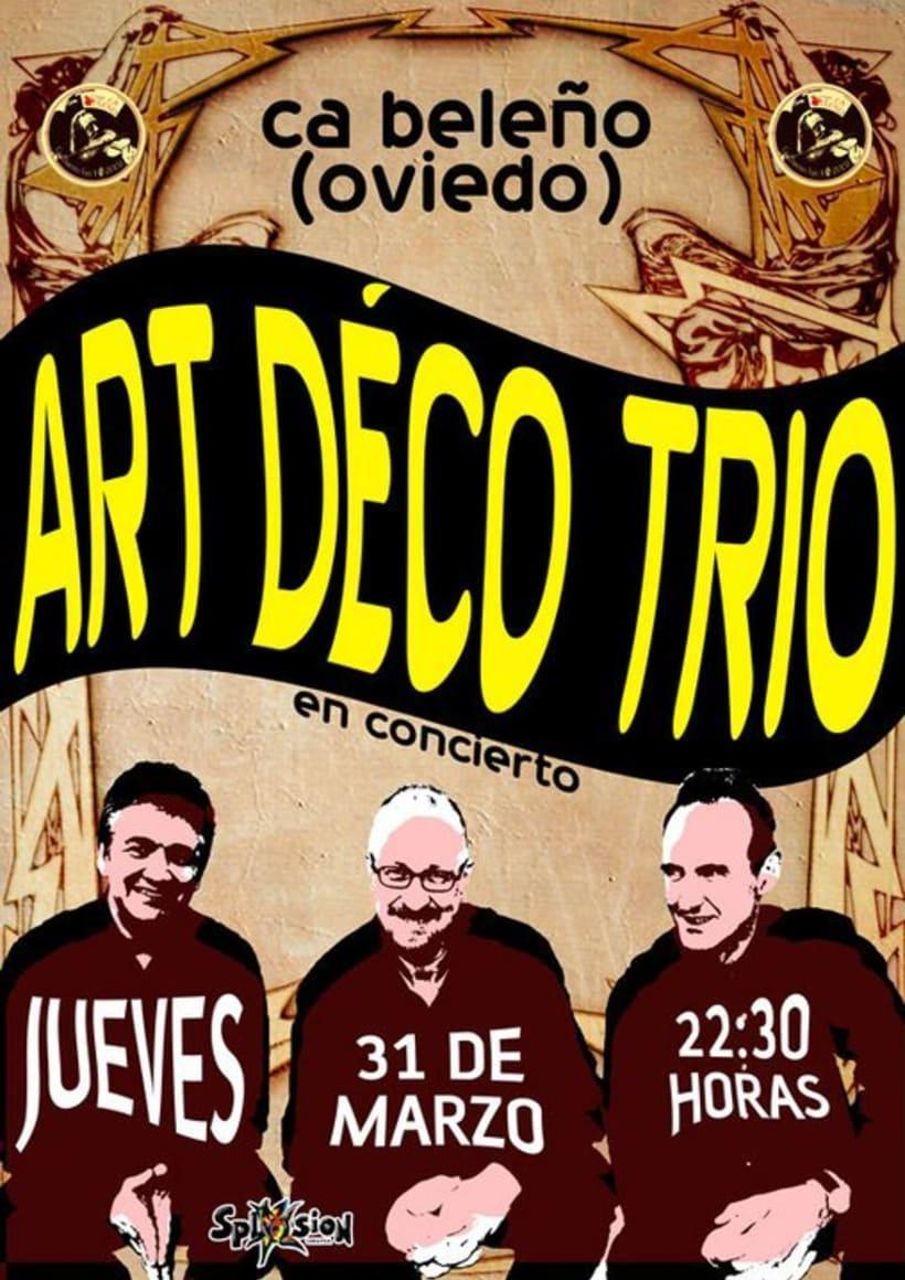 Carteleria de conciertos pub Ca beleño (Oviedo) 9