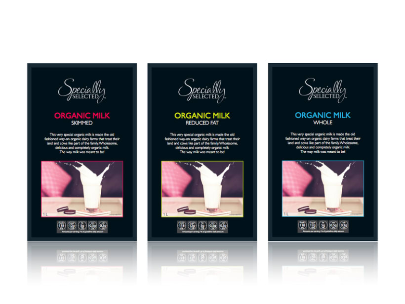 Specially Selected Organic Milk 2