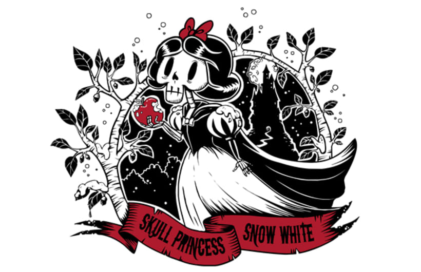 Skull Princess. Snow White. 1