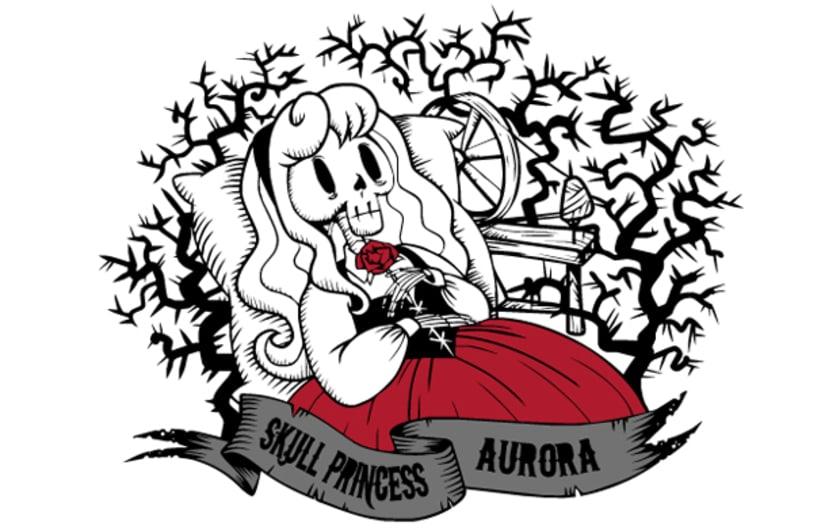 Skull Princess. Aurora. 1