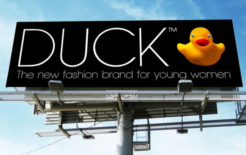 Duck. Diseño de identidad corporativa y campaña publicitaria  9