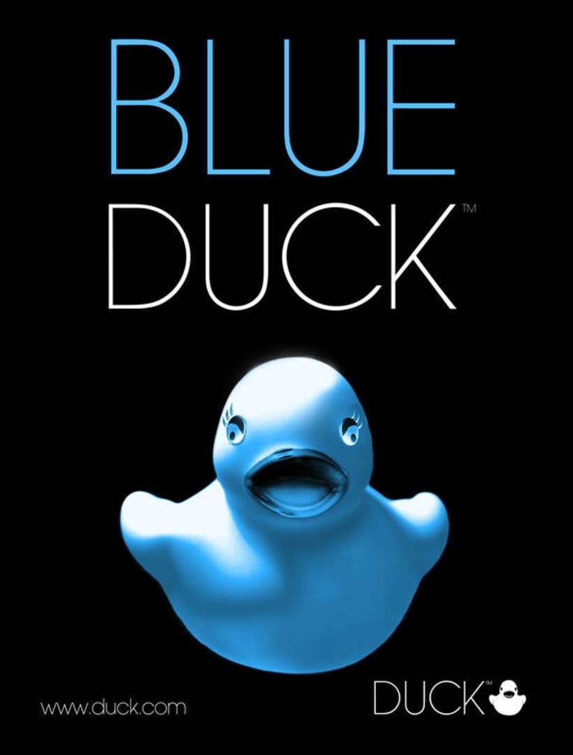 Duck. Diseño de identidad corporativa y campaña publicitaria  4
