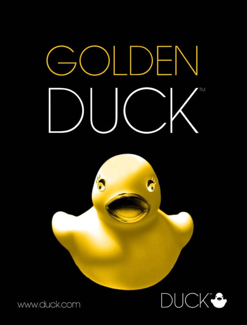 Duck. Diseño de identidad corporativa y campaña publicitaria  2