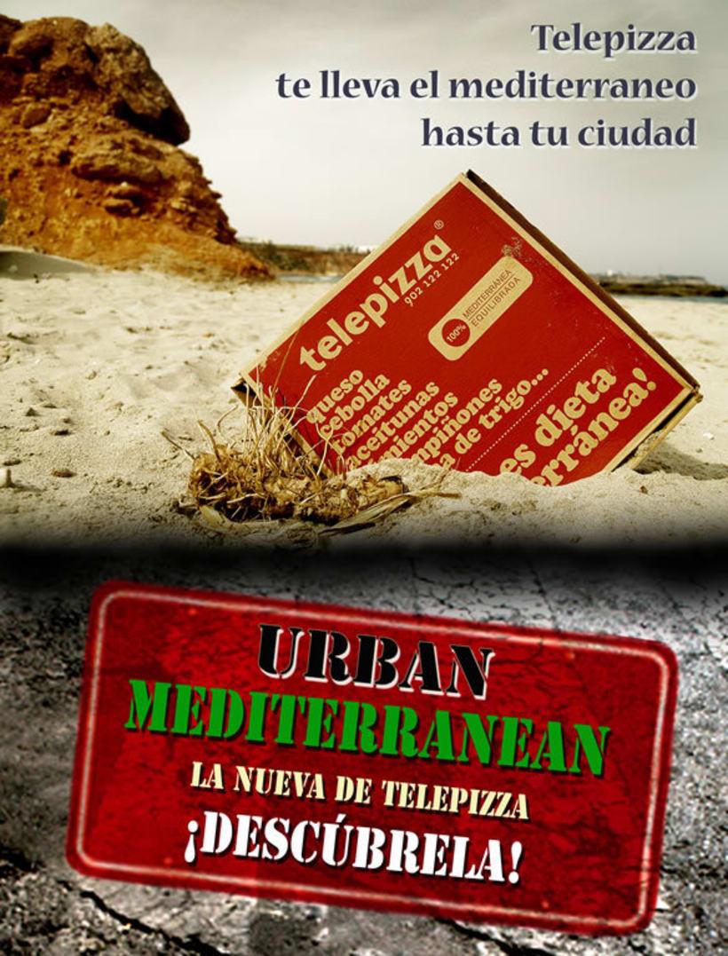 Campaña para Telepizza 3