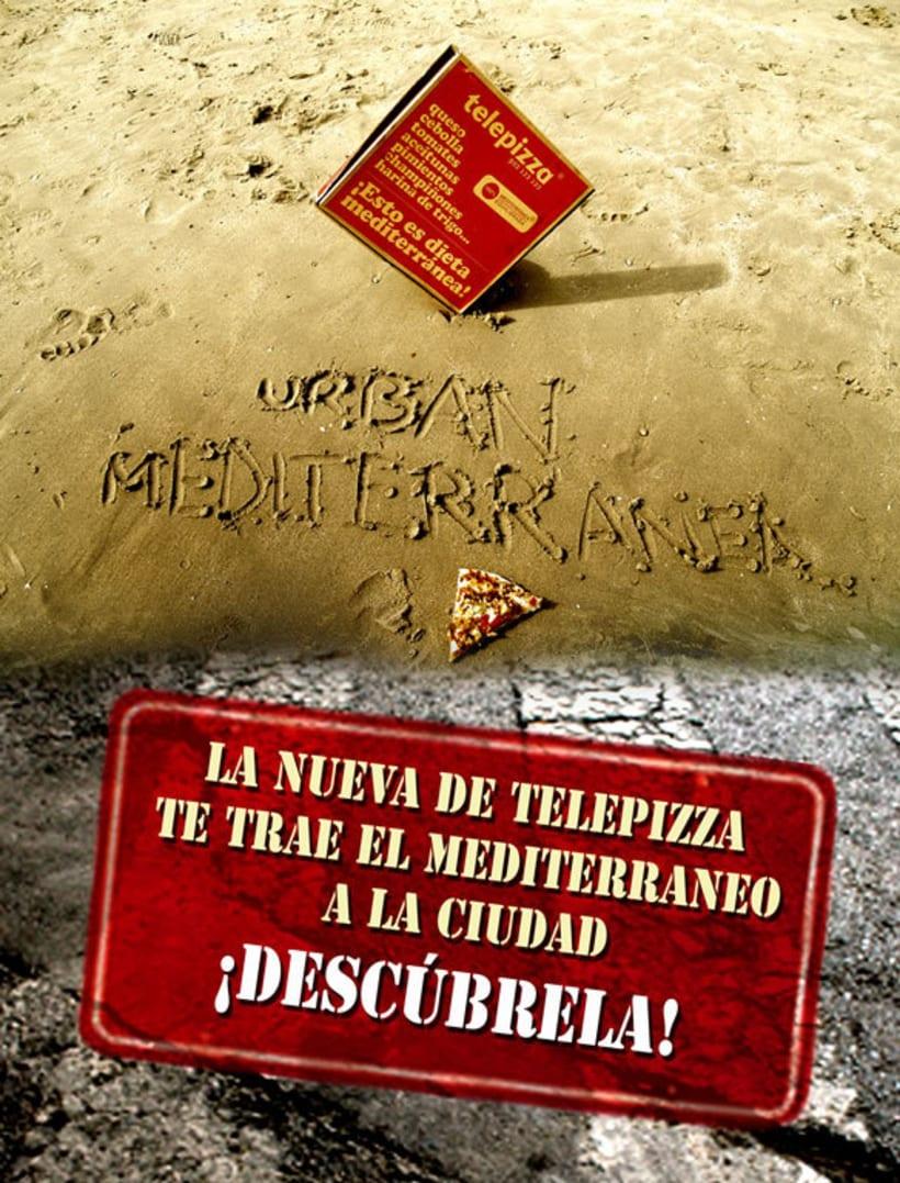 Campaña para Telepizza 1