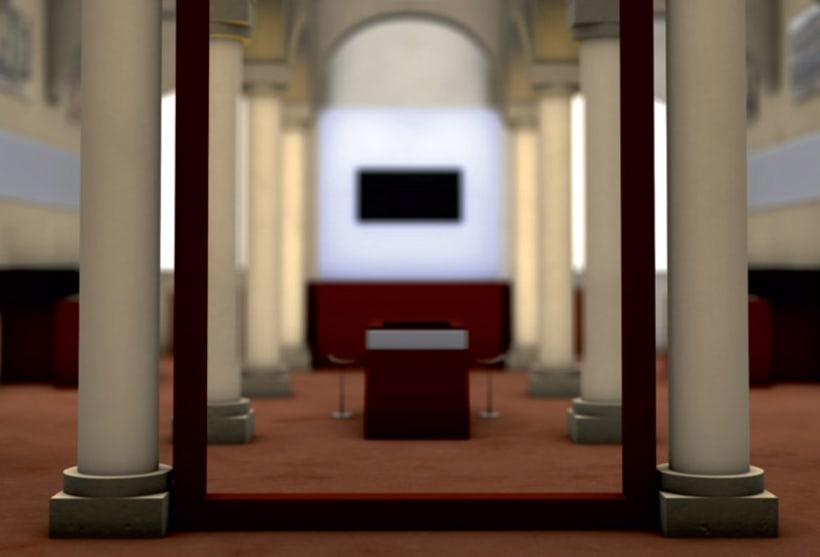 Modelado 3D para proyecto museográfico 2