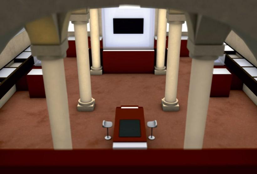 Modelado 3D para proyecto museográfico 3