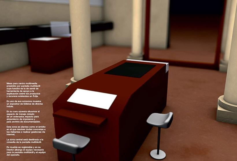 Modelado 3D para proyecto museográfico 4