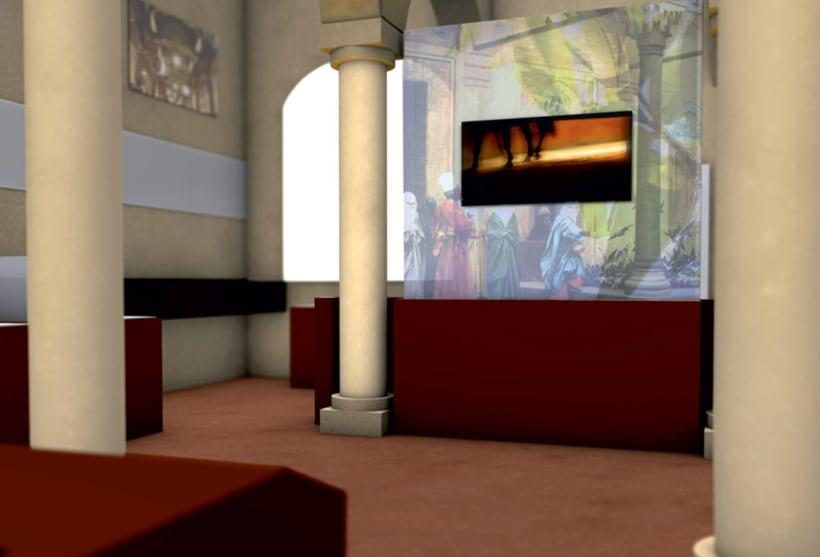 Modelado 3D para proyecto museográfico 5