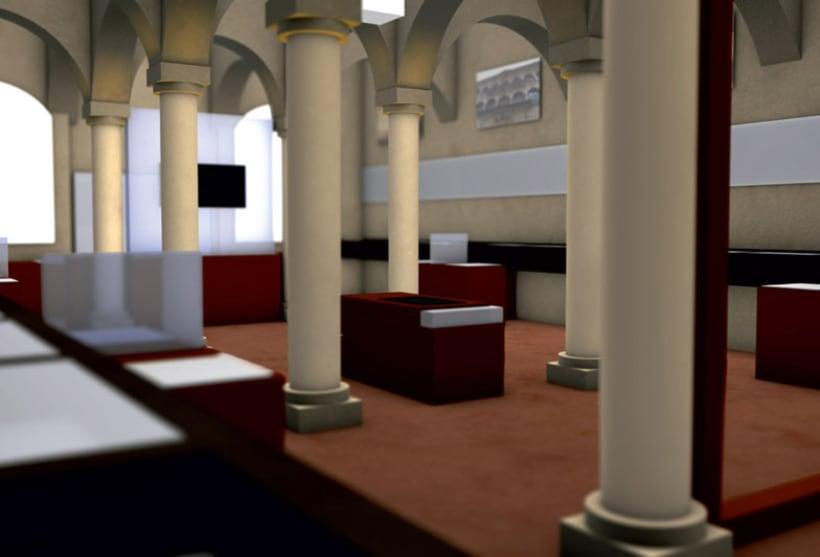 Modelado 3D para proyecto museográfico 6