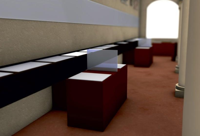 Modelado 3D para proyecto museográfico 7