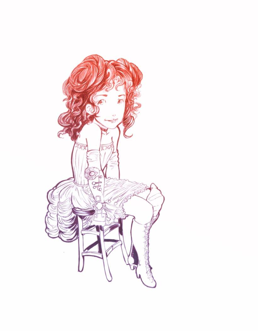 Steam girl 1