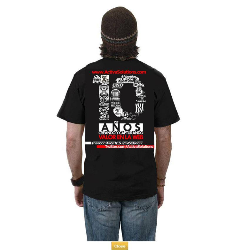 Activa! T-Shirt 1