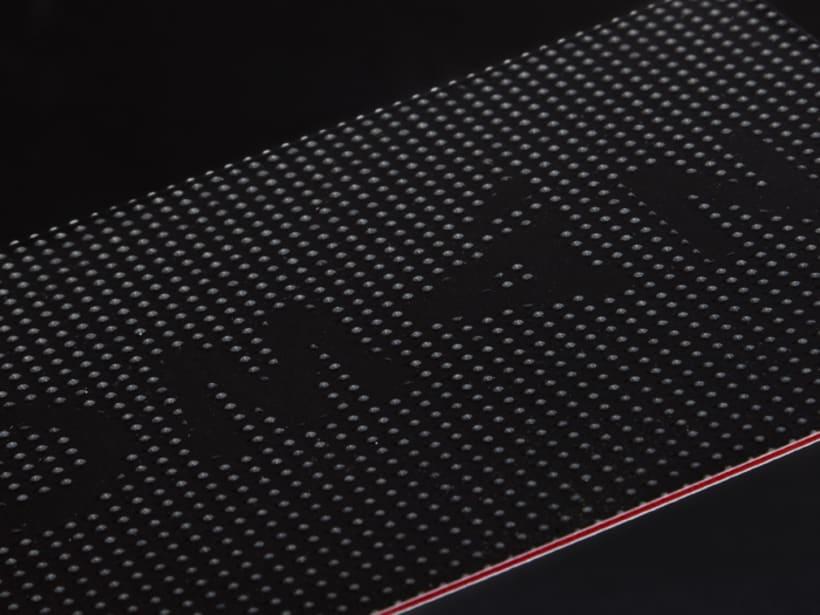Postal en Braille 3