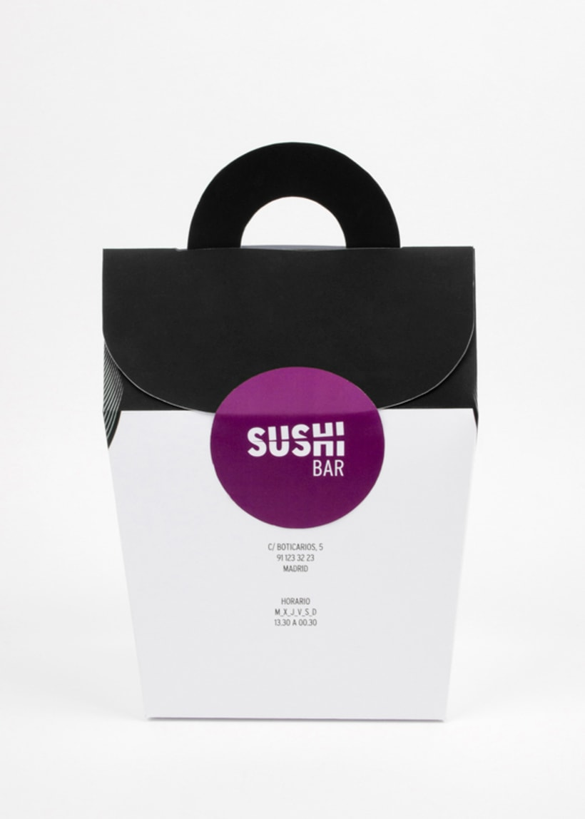 Sushi Bar. Branding 22