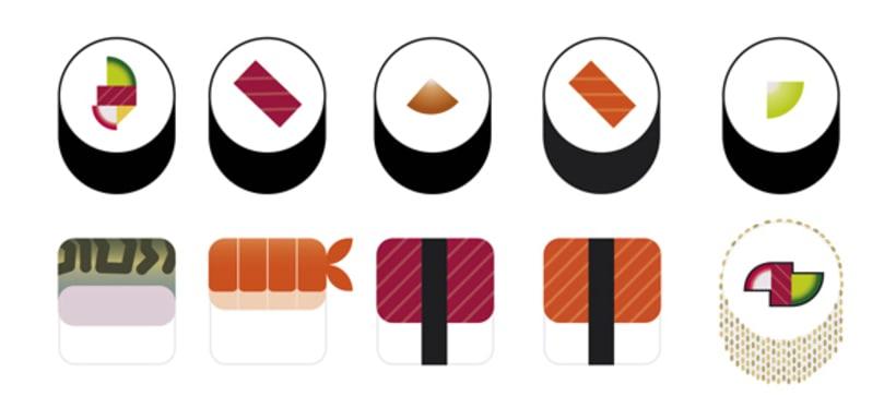 Sushi Bar. Branding 9