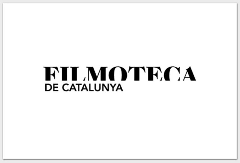Identidad Corporativa La Filmoteca 2
