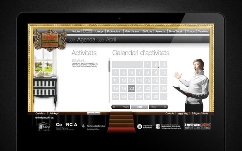 Web de actores y directores de Catalunya 5