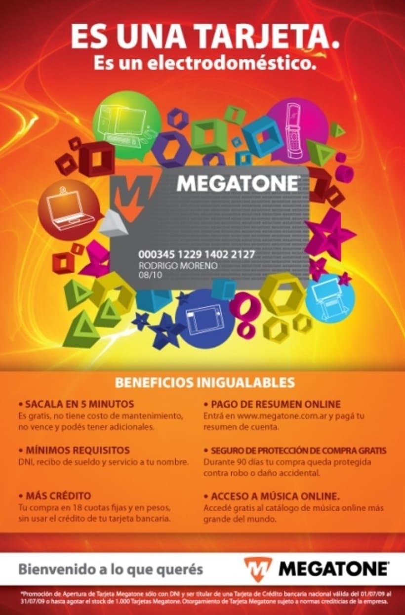 Avisos de campaña para Megatone 1