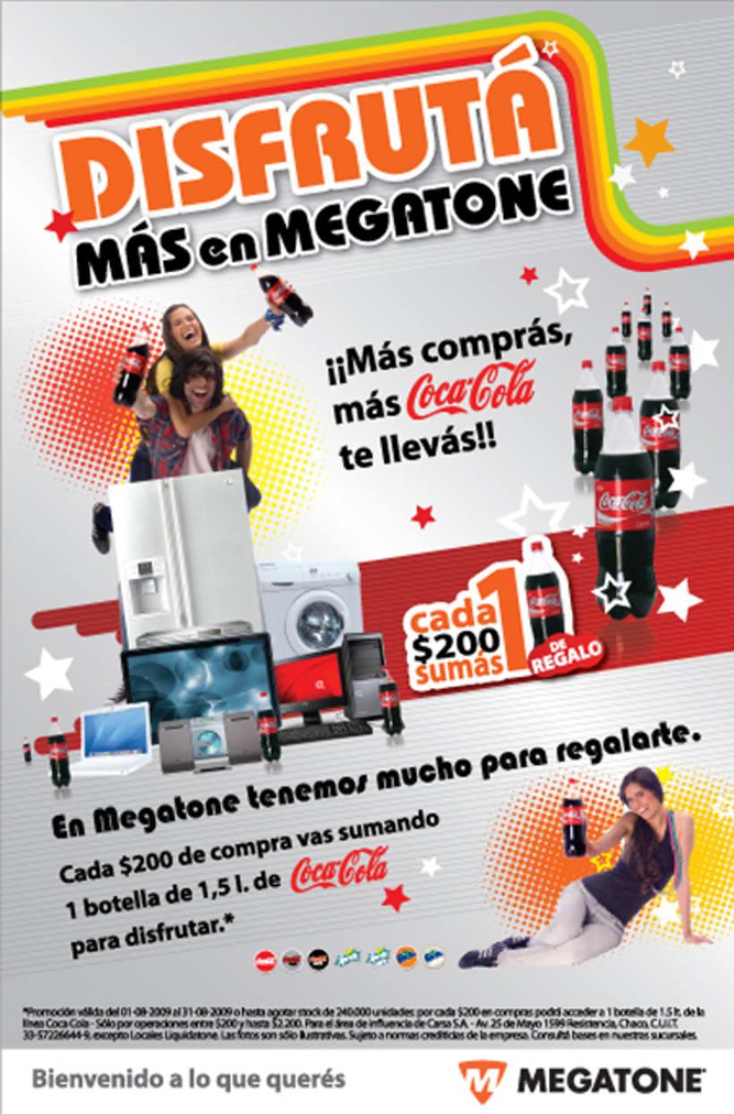 Avisos de campaña para Megatone 6