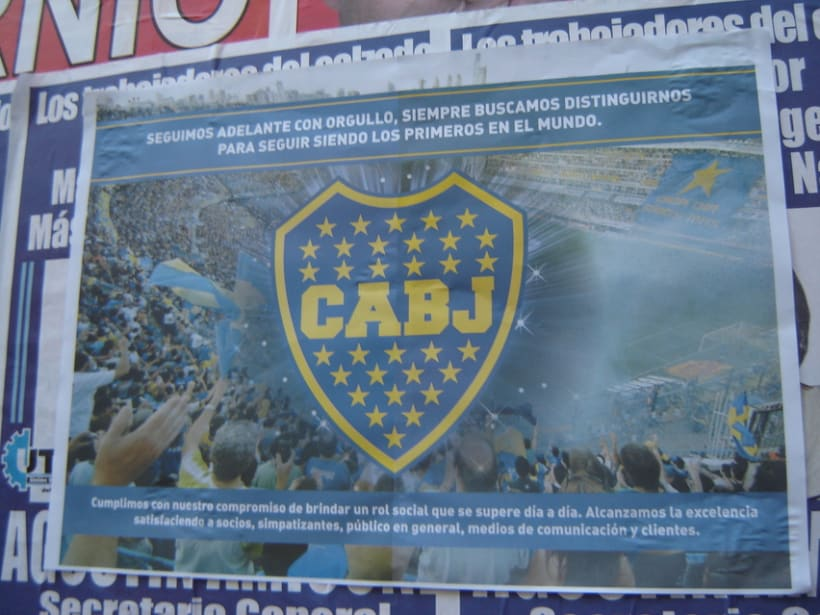 Vía pública para Boca Juniors 3