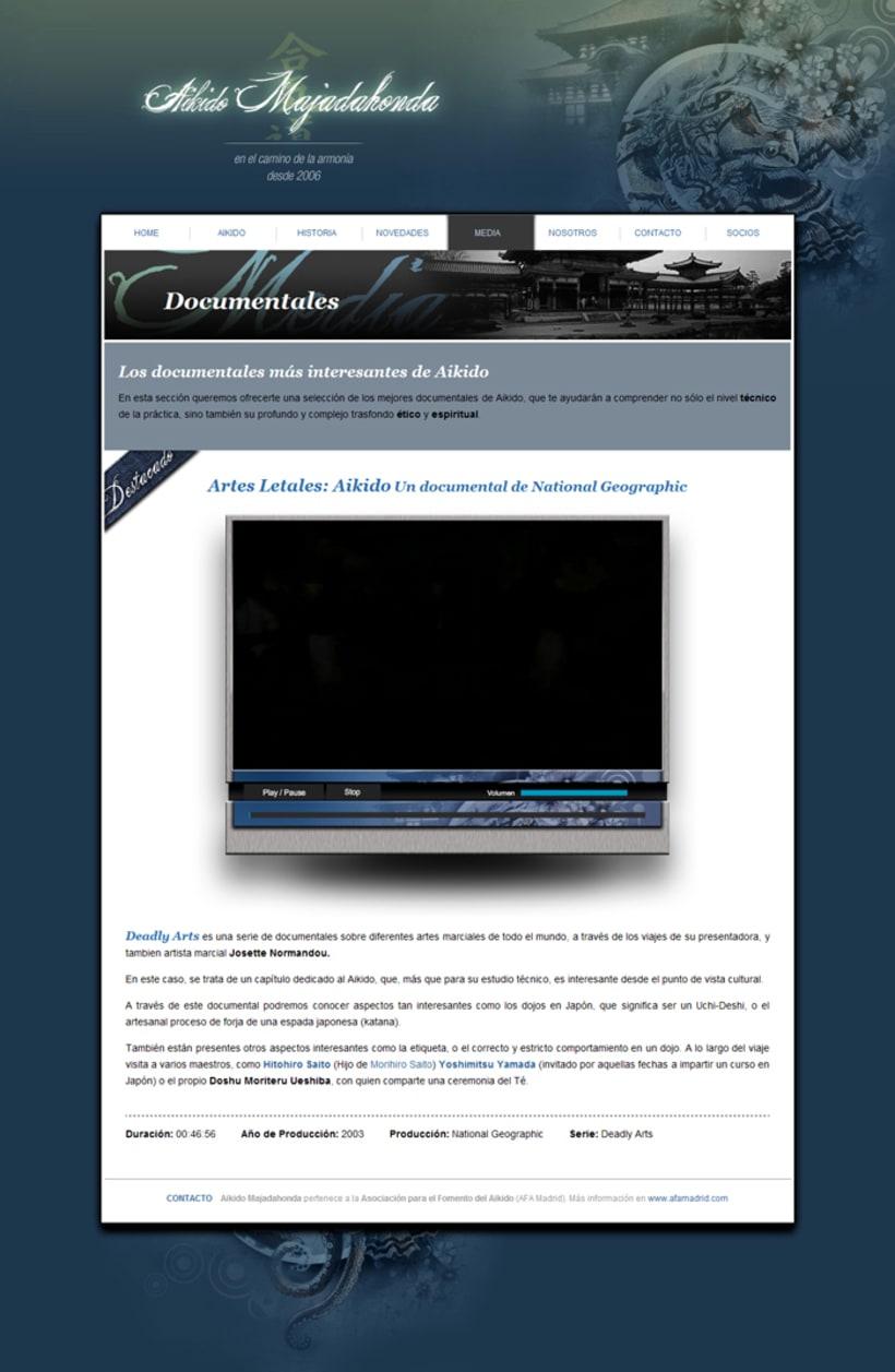 web Aikido Majadahonda 2